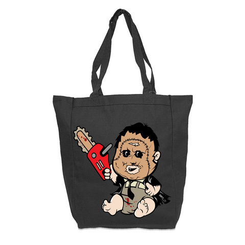 Baby Leather Face 2 Tote Bag