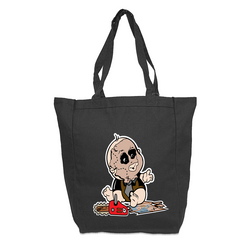Baby Leather Face Tote Bag