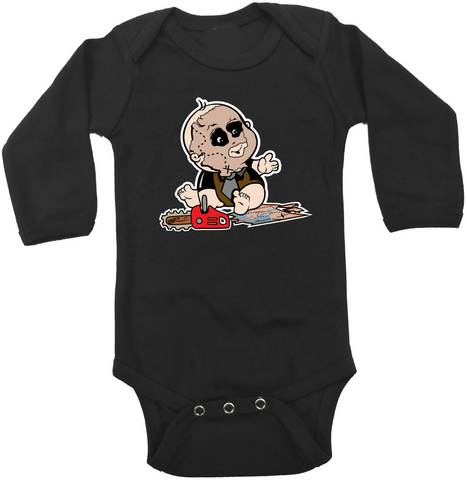 Baby Leather Face Onesie or T-Shirt
