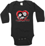 Tiny Terrors Love Your Guts Graphic Onesie or Tee