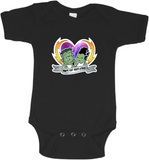 The Steins Made For Each Other Graphic Onesie or T-shirt