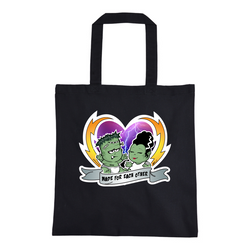 Bride and Frank Made For Each Other Tote