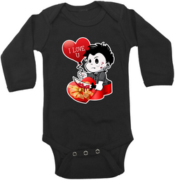 Valentine Michael Myers Graphic Onesie or Tee