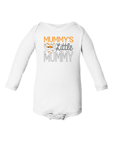 Mummy's Little Mummy Onesie or Tee-Spooky Baby