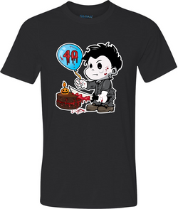 Michael 40 Adult Graphic TShirt