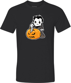 Michael Myers Adult Graphic Tshirt-Spooky Baby