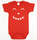 Glow in the Dark Pumpkin 4 Onesie or Tshirt-Spooky Baby