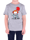 Pennywise gray shirt
