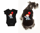 Pennywise Dog Black Tshirt Cat Tshrit
