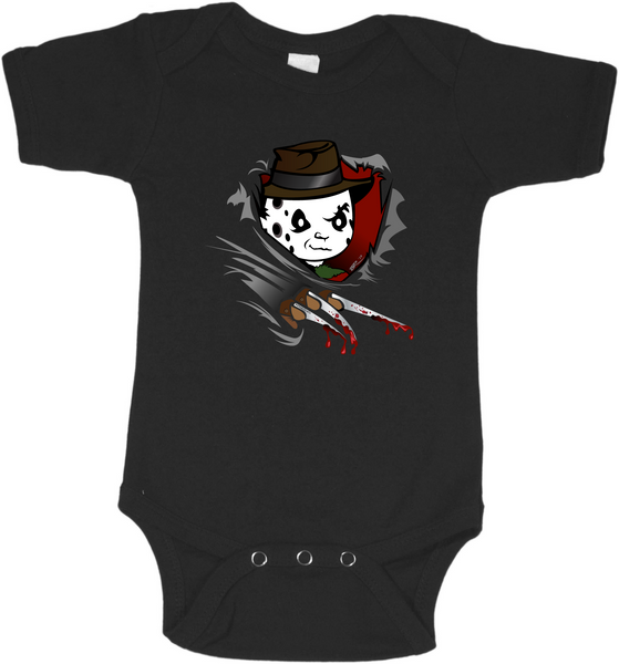 Freddy Ripping Free Graphic Onesie or Tee