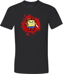 Chucky Squarepants Adult Graphic TShirt