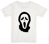 Scream Mask Onesie or Tee-Spooky Baby