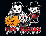 Tiny Terrors Collection Vinyl Stickers - 3""