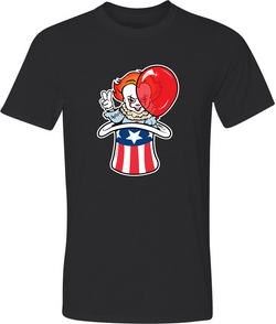 Uncle Pennywise Adult Graphic T-Shirt