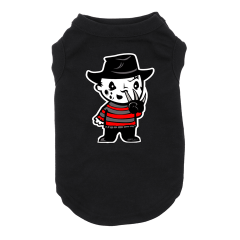 Baby Freddy Krueger Dog Black Tshirt Cat TShrit