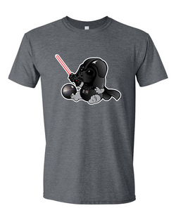 Baby Darth Vader Adult Graphic Shirt