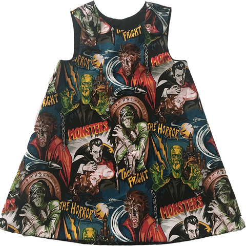 Classic Monster A-Line Dress