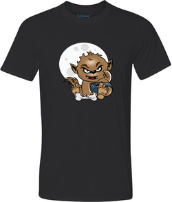 Baby Wolfman Adult Graphic TShirt