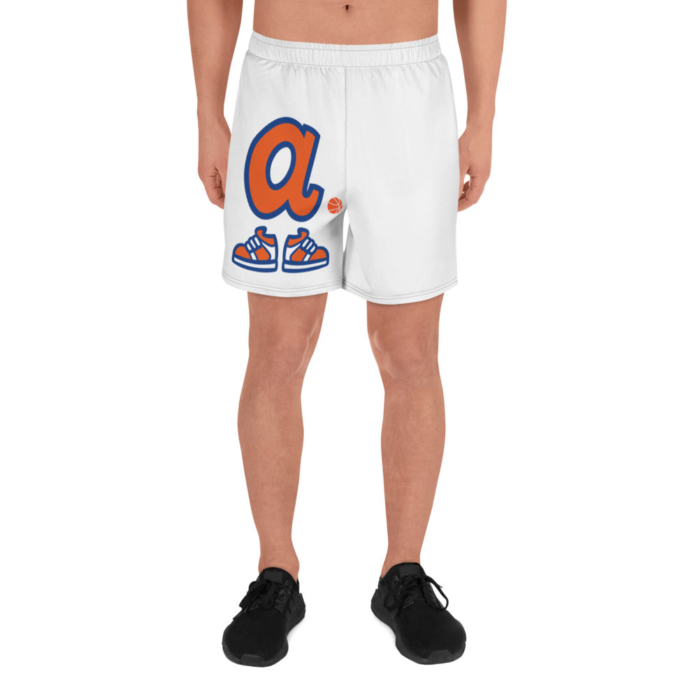 Asianballers Men's Athletic Long Shorts