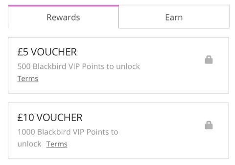 Blackbird Rewards