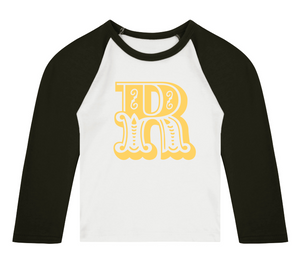 Join The Circus 3/4 length sleeve Raglan T-Shirt