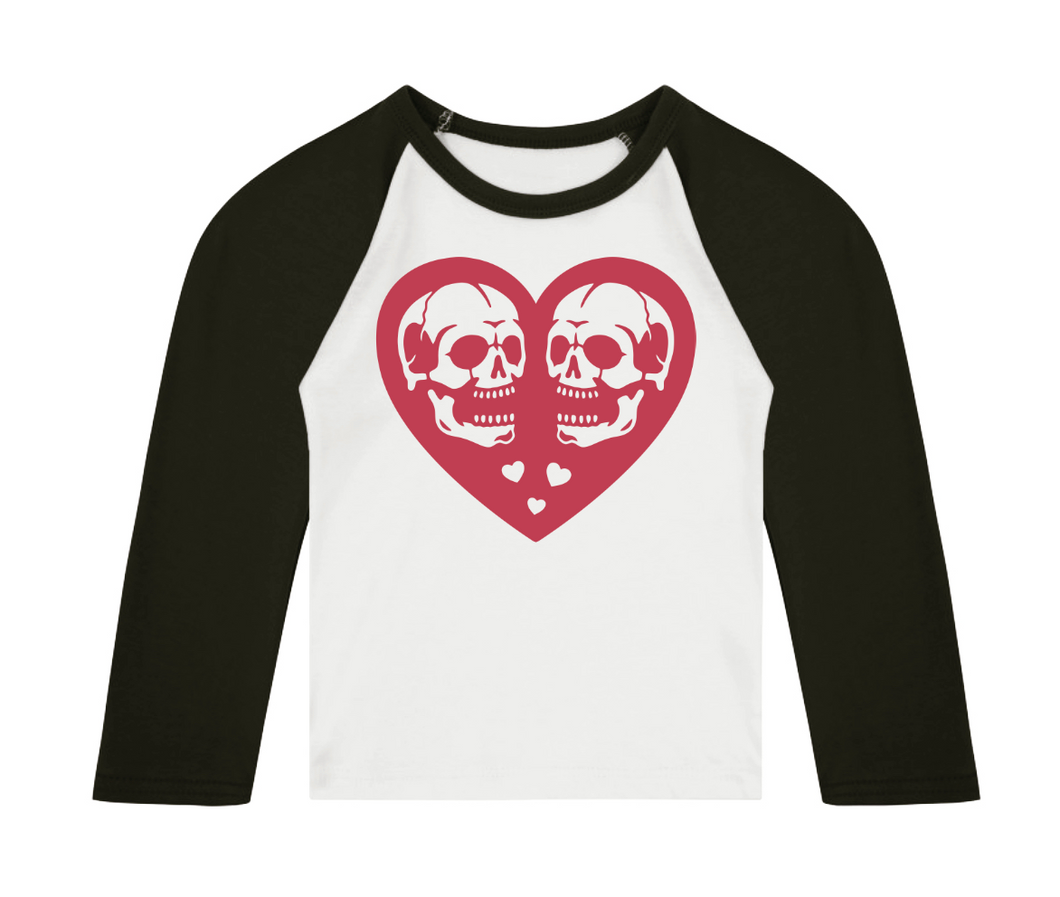 Eternal Love 3/4 length sleeve Raglan T-Shirt