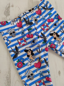 Rockabilly Sea Leggings