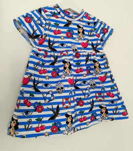 Rockabilly Sea Dress