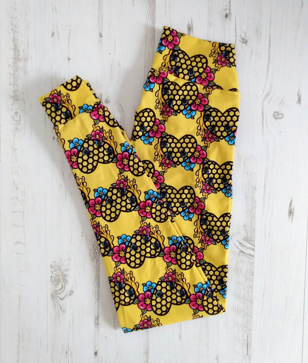 Honey Bee - Adult Leggings