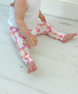 Pink Flamingo Leggings (2-3 years)