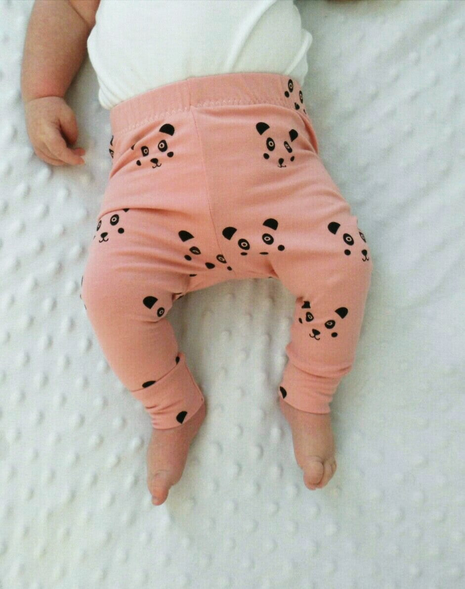 Pink Panda Leggings (3-4 years)
