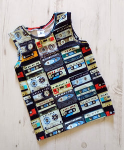 90s Mixtape Vest - Love Sick London Collaboration