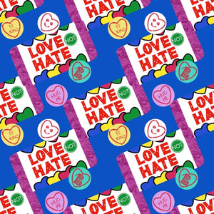 Love Not Hate (Blue) Bloomers