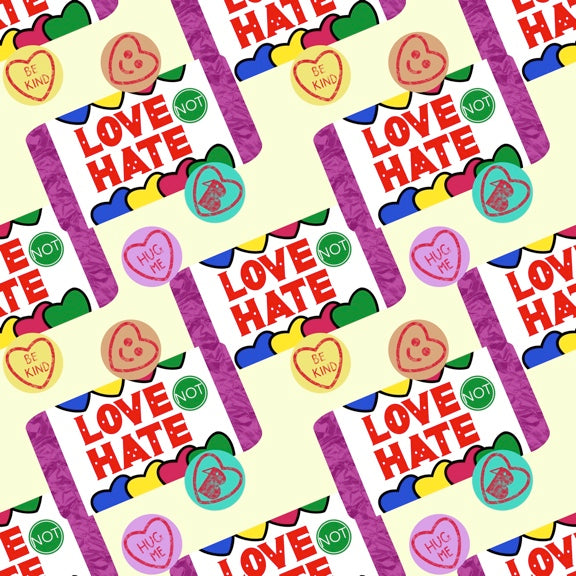 Love Not Hate (Cream) Bloomers