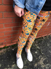 Old School Tattoo - Adult Leggings - XL