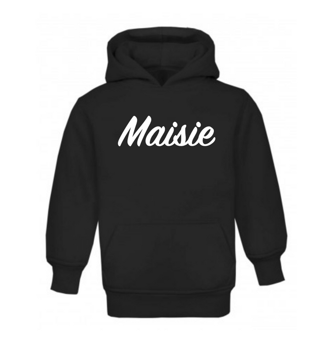 Personalised Name Pull On Hoodie
