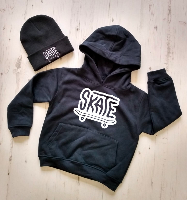 SKATE Hoodie + Beanie Set - **Special Offer**