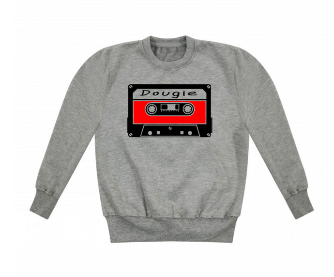 90s Mixtape Personalised Name Sweatshirt