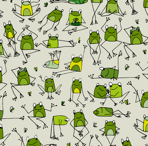 Yoga Frogs Top