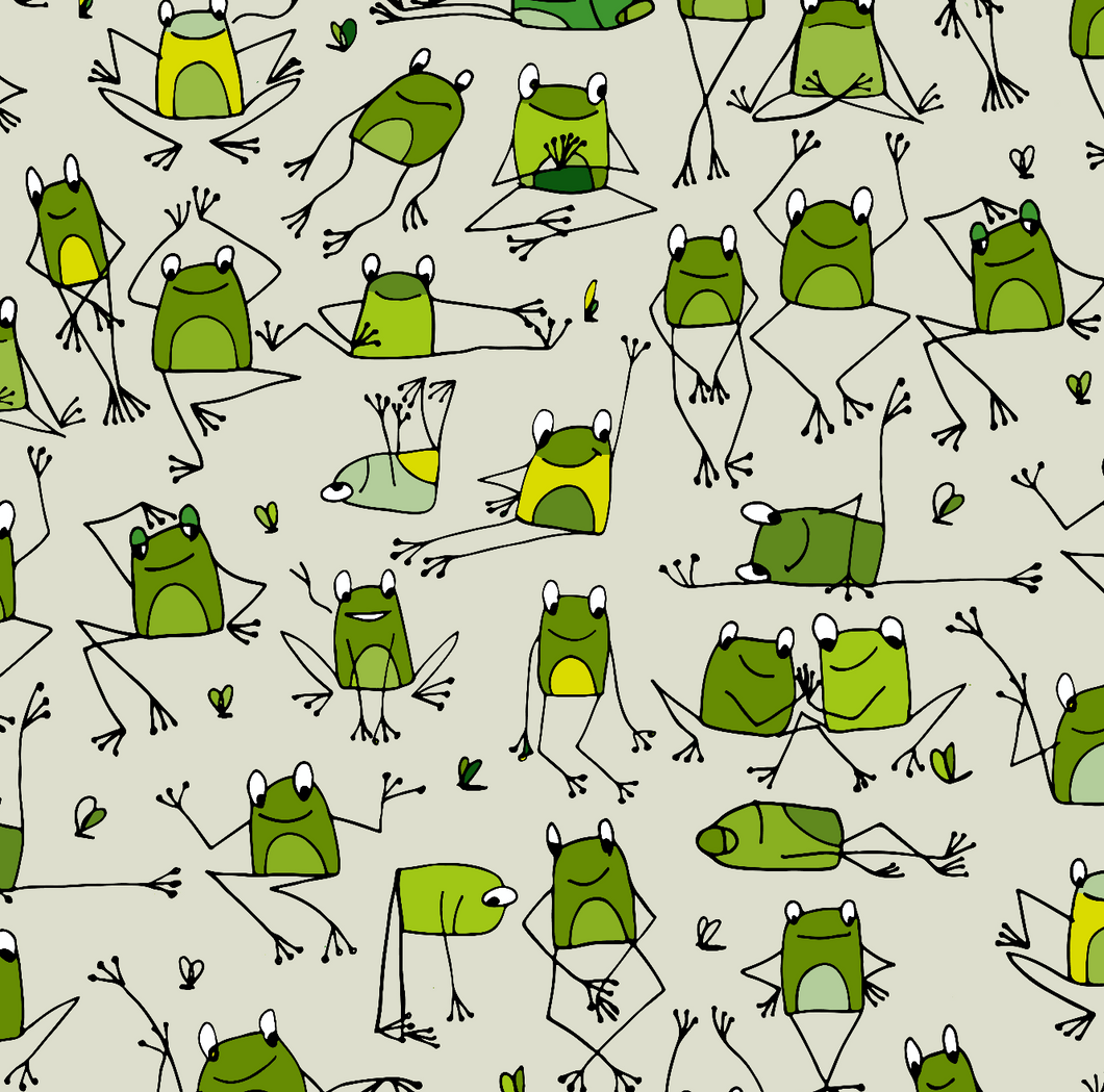 Yoga Frogs - Adult Leggings