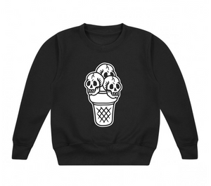 Ice Skulled Sweatshirt 2-3 years