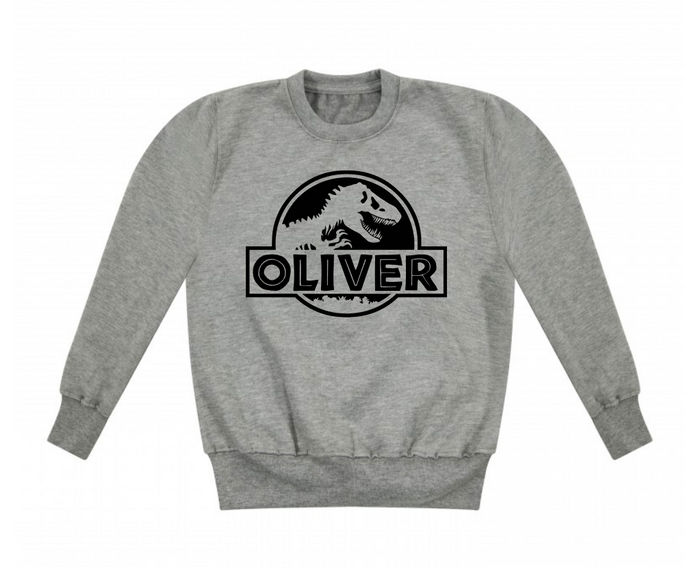 Jurassic Name Sweatshirt