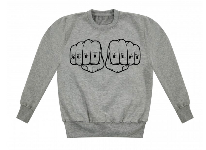 Soft Play Tattoo Hands Sweatshirt