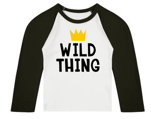 Wild Thing (Centre) Raglan T-Shirt