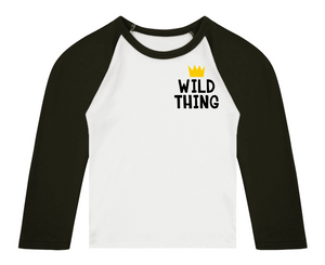 Wild Thing (Breast) Raglan T-Shirt