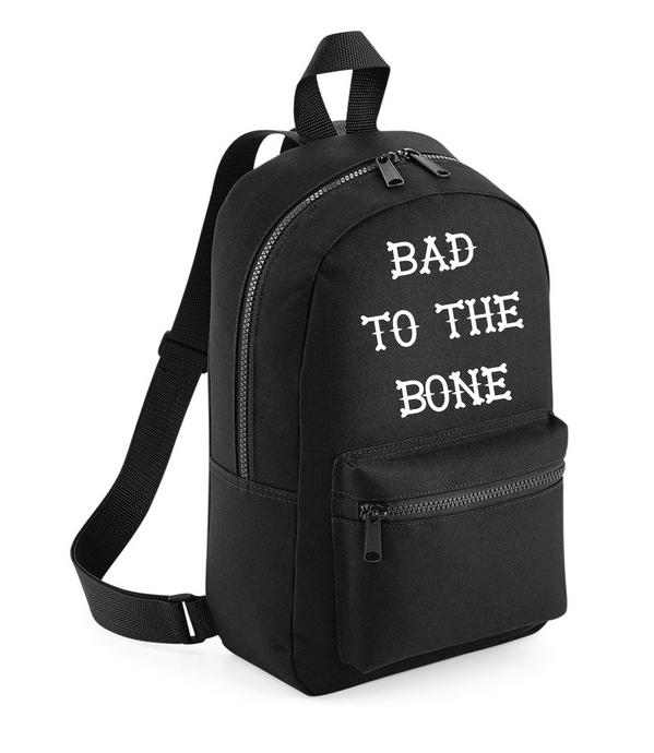 Bad To The Bone - Kids Backpack
