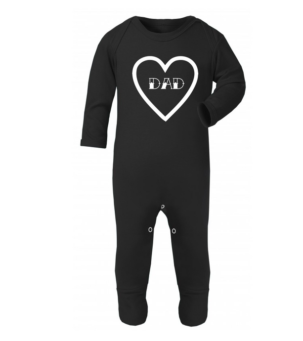 Dad Heart Rompersuit