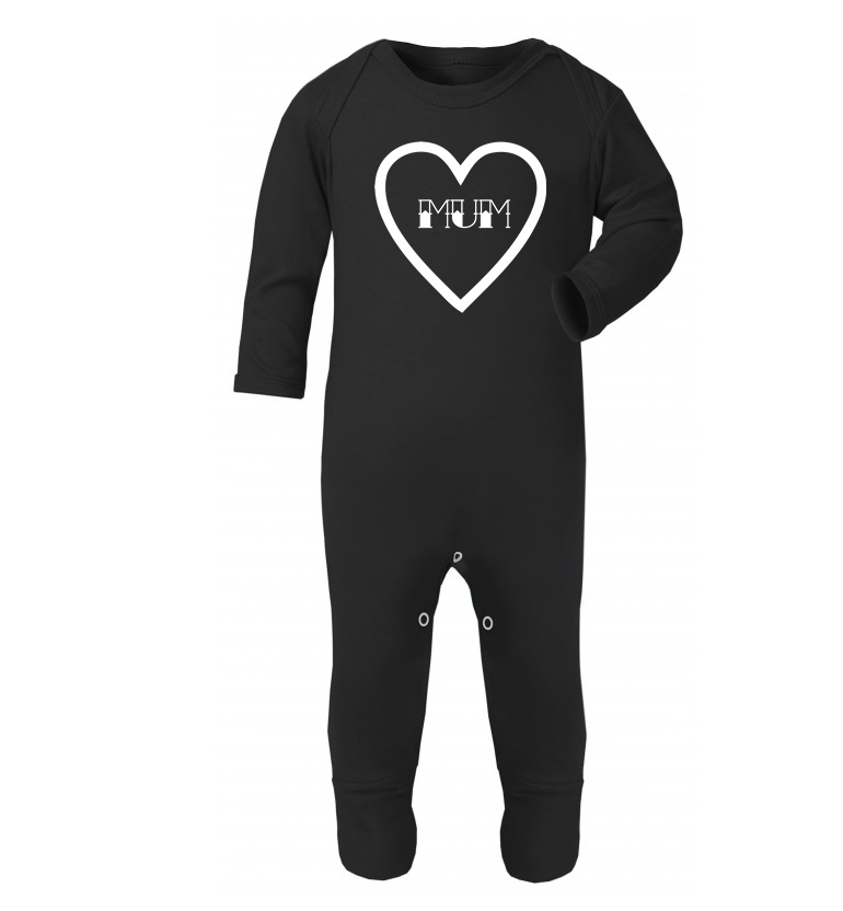 Mum Heart Rompersuit