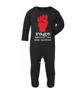 Rage Against The Mum Machine Rompersuit