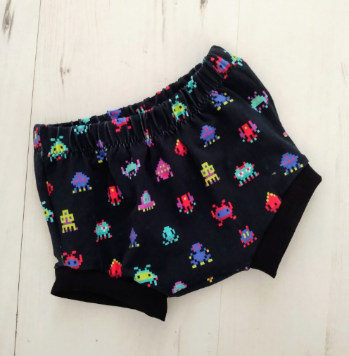 Space Invaders Bummies